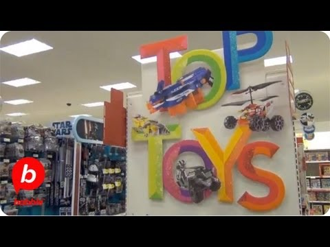 Shopping for the Top Toys at Target