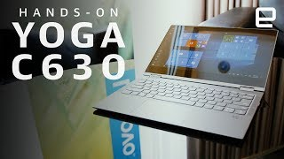 Lenovo Yoga C630 WOS Hands-On at IFA 2018