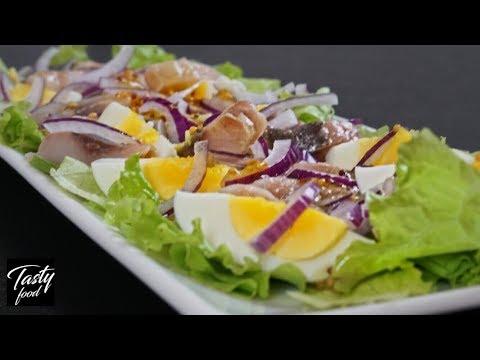 """Салат """"Отпад"""" за Считанные минуты! Простые рецепты салатов!"""