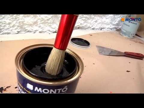 Como pintar una barandilla met lica mont pinturas youtube for Como pintar puertas de sapeli