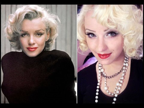 Hollywood Icon: Marilyn Monroe Pin Up Inspired Makeup Tutorial