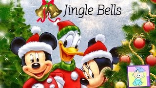Jingle Bells | Music Video for Kids with Lyrics | From Baby Teacher