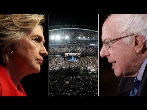 How 2008 Clinton compares to present-day Sanders