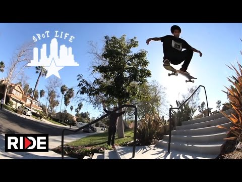 The Bones Wheels Team Rips SD; Kevin Romar, Ryan Decenzo, Trevor McClung – SPoT Life