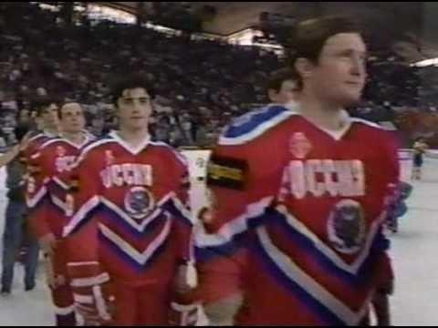 История: Финал ЧМ по хоккею 1993  Россия 3:1 Швеция