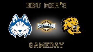 HBU Men's Basketball vs Southeastern Louisiana
