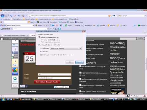 free backlinks generator software download