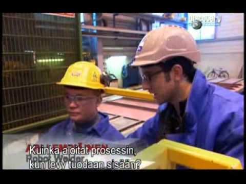 Discovery Channel Extreme engineering:Pema welding automation at shipyard