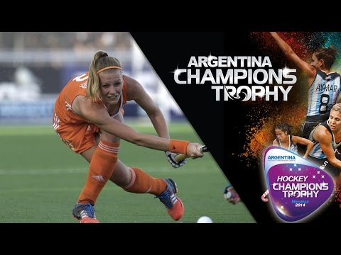 Netherlands vs Argentina - Women's Hockey Champions Trophy 2014 Argentina Semi Final 2 [06/12/2014]