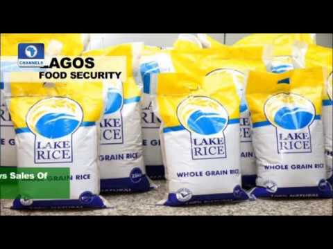News Across Nigeria: Lagos State Govt. Reviews Sales Of LAKE Rice