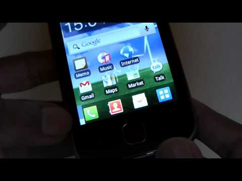 Samsung Galaxy Y Unboxing & Review