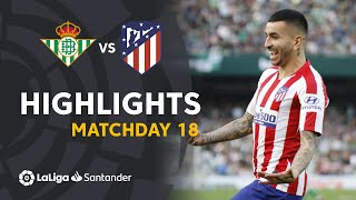 Highlights Real Betis vs Atlético de Madrid (1-2)