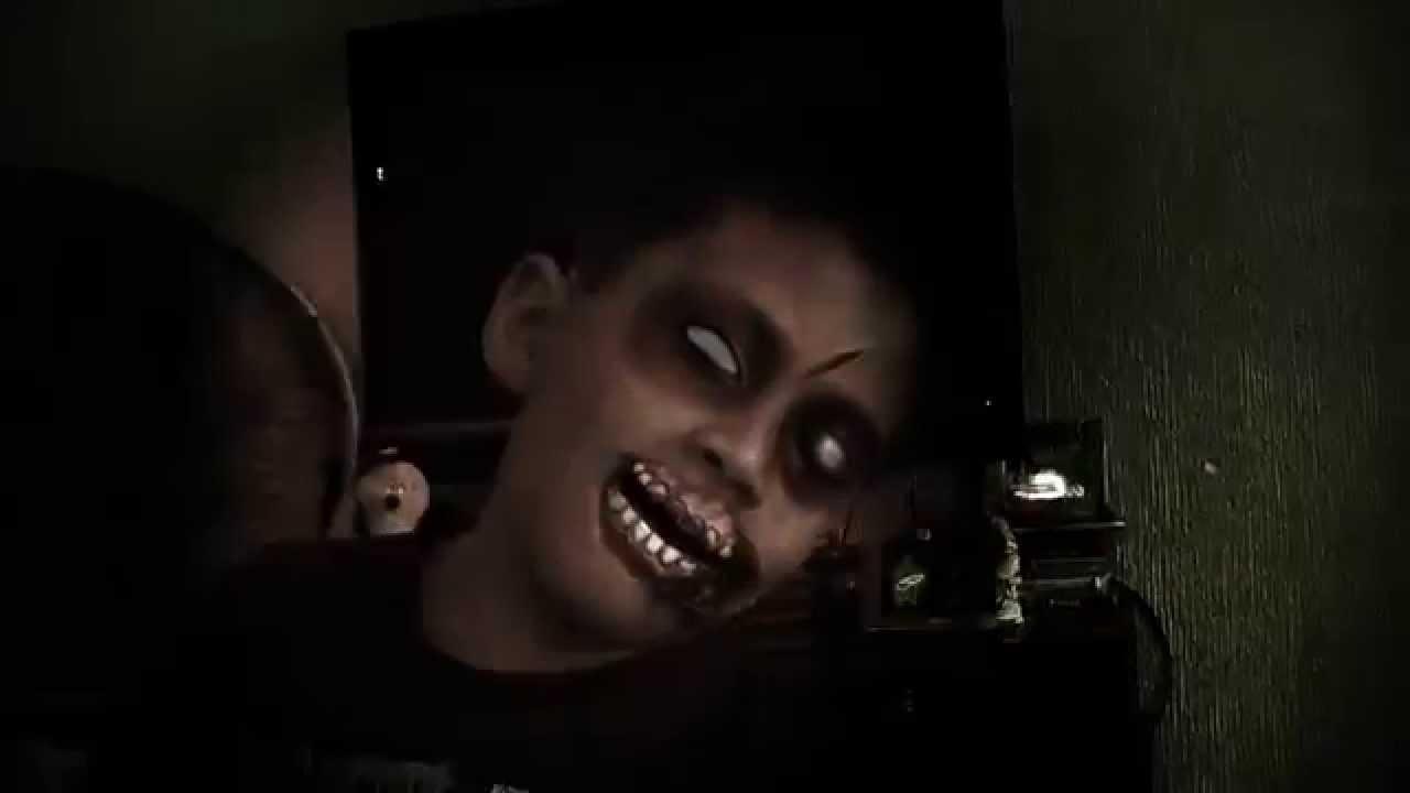 digital zombie makeup