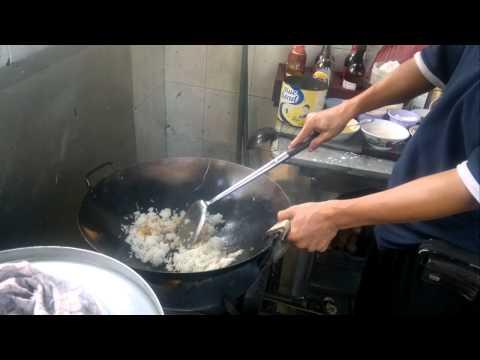 Chinese Food ( Chicken Fried rice ) ( Nasi Goreng Ayam )