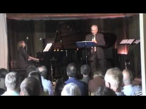 Shifrin and Harcombe play Bach to the Beatles for clarinet and piano