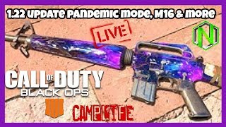 1.22 Update Pandemic mode, M16 and more | BO4