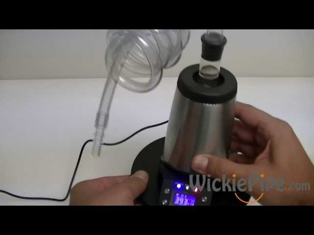 Arizer V-Tower Vaporizer - WickiePipe