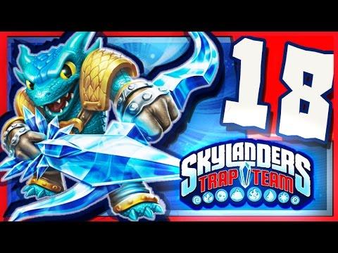Skylanders Trap Team Wii U - Walkthrough Part 18 Golden Queen Battle