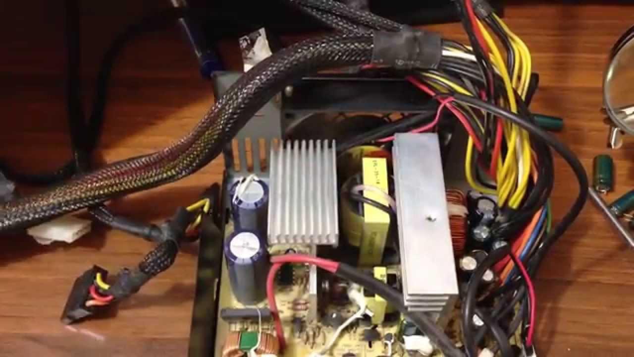 Как отремонтировать блок питания компьютер своими руками 907