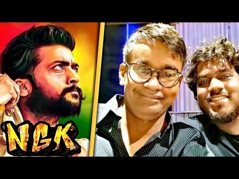 MASSIVE : Yuvan Starts Suriya's NGK Recording | Suriya | Selvaragavan | Yuvan | Rakul Preet Singh