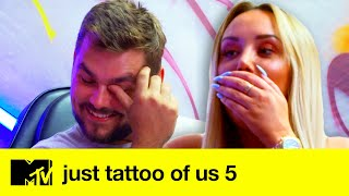 EP #6: Ash Decides Whether To Stick With Josie's Design Or Twist | Just Tattoo Of Us 5