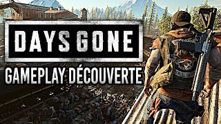 DAYS GONE : découverte et gameplay inédit face à la Horde (sans spoiler)