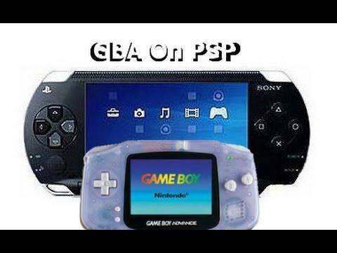 Эмулятор gba для psp скачать