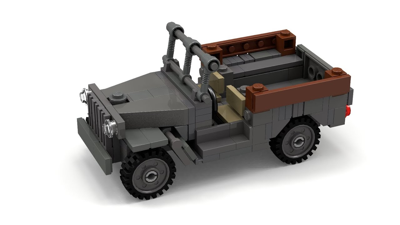 Lego Wwii Wc 52 Truck Instructions Youtube