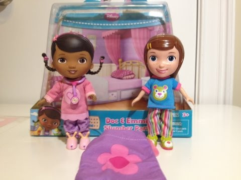Disney Junior Doc McStuffins the Doc and Emmie Slumber Party with Doctor Dottie Disney Junior