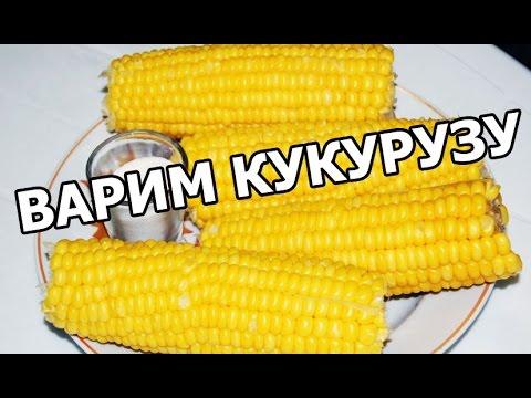 Как и сколько варить кукурузу. Сварить очень просто!
