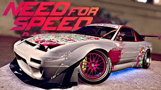 STICKERBOMB Nissan 180sx Rocket Bunny Tuning - Need for Speed Payback