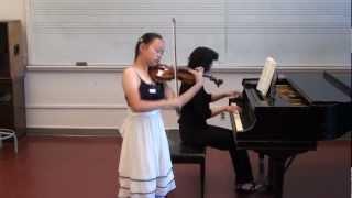 CMTANC International Youth Music Competition 2012 (Violin 小提琴)