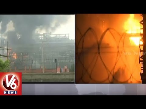Fire Breaks Out At BPCL Refinery In Mumbai's Mahul, Over 40 Injured | V6 News