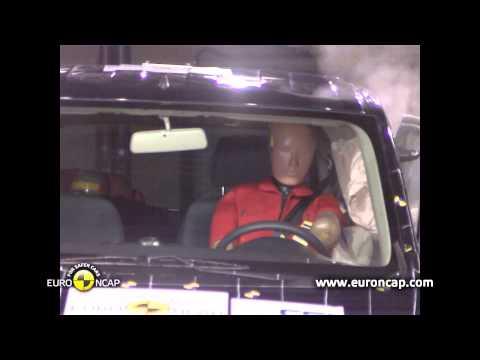 Euro NCAP | Nissan Evalia | 2013 | Краш-тест
