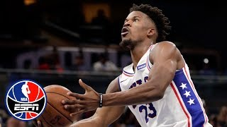 Jimmy Butler's debut with the 76ers didn't go as planned | NBA Highlights