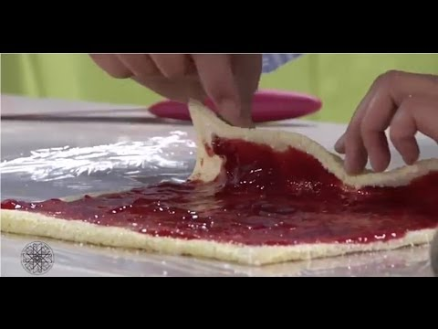Cuisine marocaine par Choumicha: Biscuits roulés à la confiture / شميشة : بسكويت ملفوف بالمربى