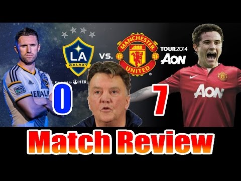 Manchester United 7-0 LA Galaxy Match Review: Anders Herrera is a BOSS (Vlog)