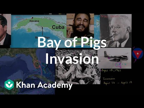 an overview of the story of failed invasion of cuba at the bay of pigs Cuban intelligence knew the invasion was coming  the cia believed once troops were ashore, the administration would do anything to keep the invasion from failing  the bay of pigs taught kennedy to trust his advisers rather than the  originally published in the march 2014 issue of military history.