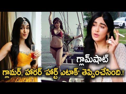 Adha sharma Viral Videos On Social Media |  Heart attack Movie Heroine Goes Viral