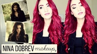 "Nina Dobrev ""Katherine Pierce"" Inspired Makeup & Hair Tutorial"
