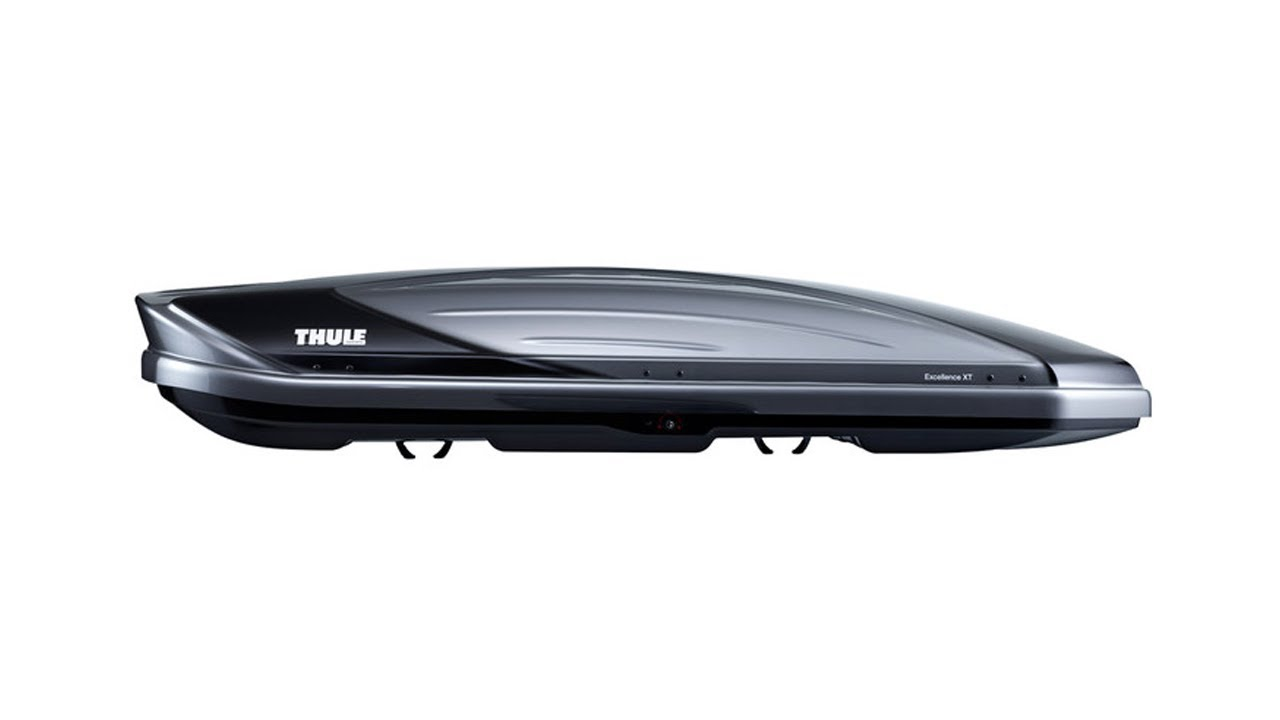 Roof box - Thule Excellence / Thule Boxter - YouTube