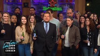 Happy Thanksgiving from The Late Late Show & Heineken