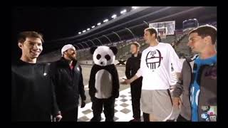 Dude perfect panda face reveal (read description)