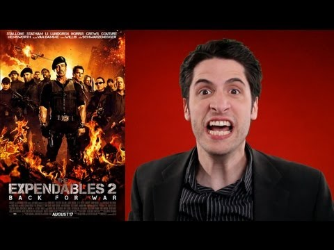 The Expendables 2 Movie Review video