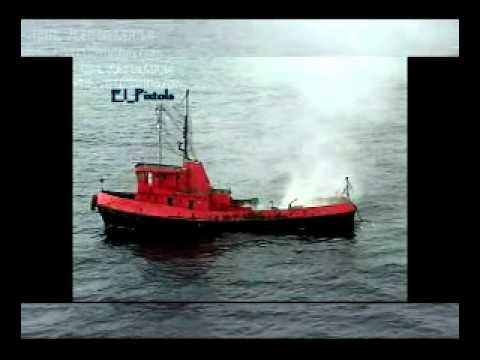 """Marina de Guerra del Peru """"lanzamiento del misil Otomat mk2 """""""