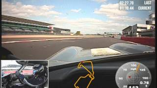 My fastest E-Type lap in the Silverstone Guard