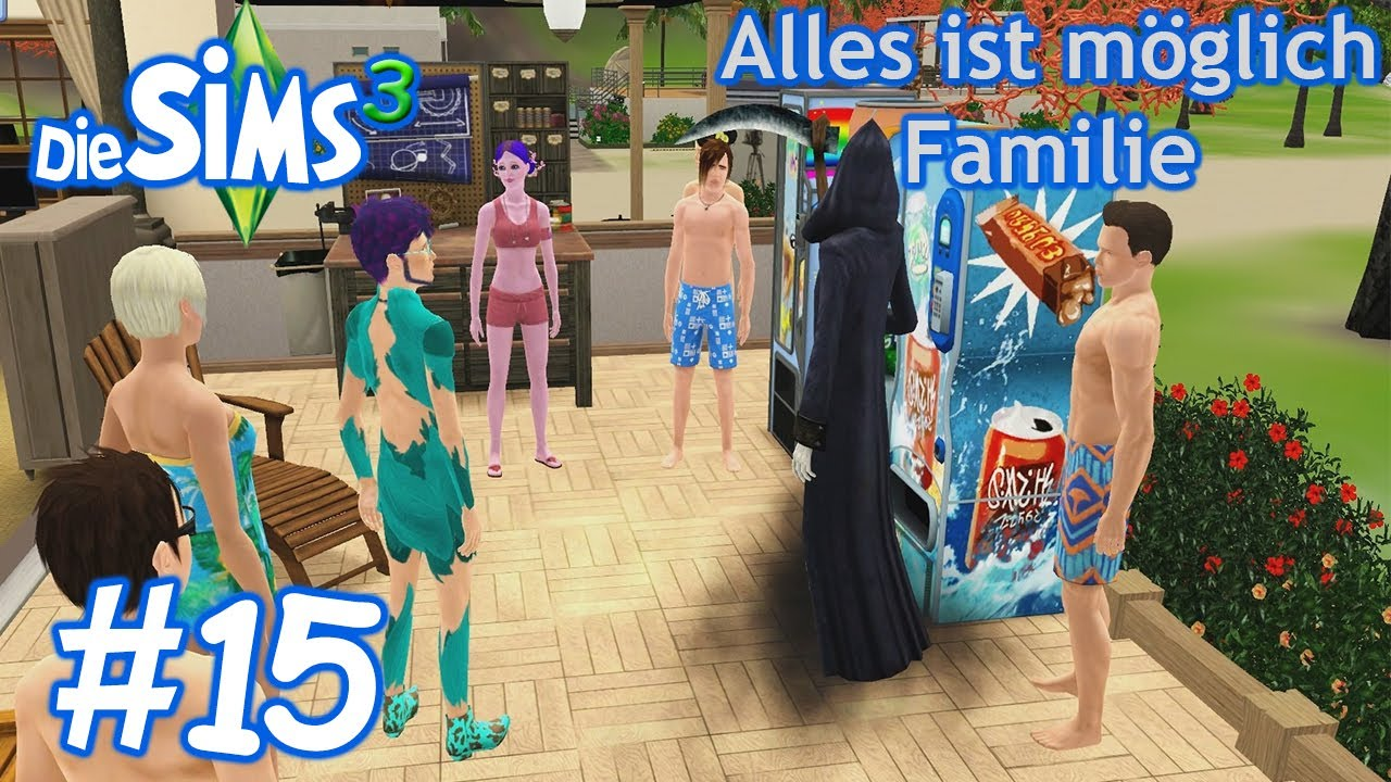 die sims 3 alles ist m glich familie 15 die todesparty. Black Bedroom Furniture Sets. Home Design Ideas