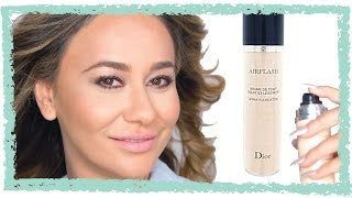Dior Airflash Spray Foundation Is $62 BUT It Makes Your Skin Flawless!