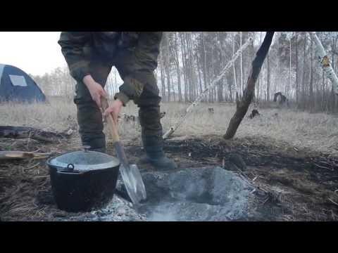 Как приготовить утку в полевых условиях