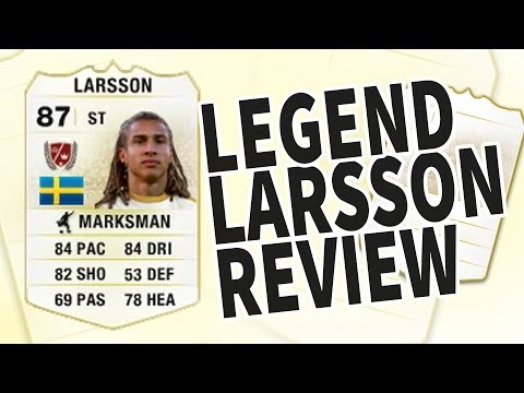 Fifa 14 Legend Henrik Larsson 87 Player Review & In Game Stats